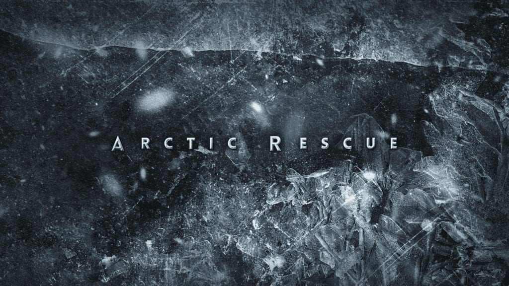 Broadcast design for Discovery Channel Arctic Rescue TV show