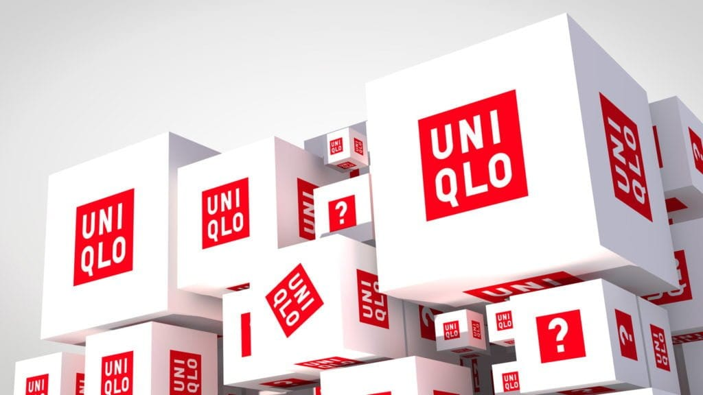 3D animation studio for UNIQLO advertising displays
