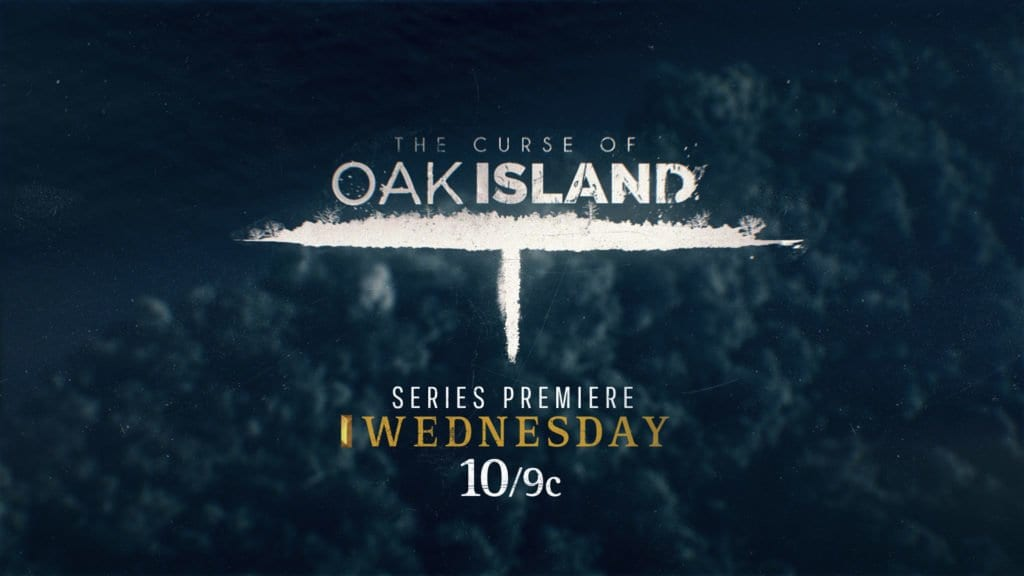 Broadcast logo design for History Channel Oak Island Season 3